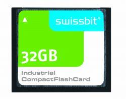 SWISSBIT SFCF32GBH1BO4TO-I-NC-543-SMA