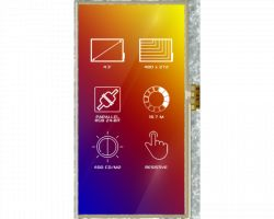 4D SYSTEMS 4DLCD-43480272-RTP-IPS