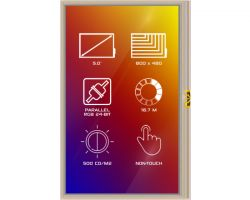 4D SYSTEMS 4DLCD-50800480-IPS