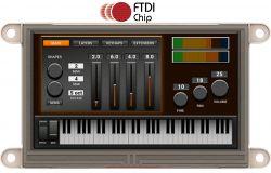 4D SYSTEMS GEN4-FT812-43T