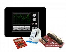 4D SYSTEMS GEN4-ULCD-24D-CLB-PI