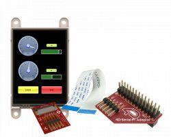 4D SYSTEMS GEN4-ULCD-24D-PI