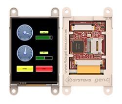4D SYSTEMS GEN4-ULCD-24D