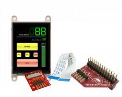 4D SYSTEMS GEN4-ULCD-28D-PI