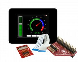 4D SYSTEMS GEN4-ULCD-32DCT-CLB-PI