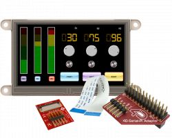 4D SYSTEMS GEN4-ULCD-43D-PI