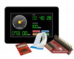 4D SYSTEMS GEN4-ULCD-43DCT-CLB-PI