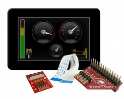 4D SYSTEMS GEN4-ULCD-50D-CLB-PI