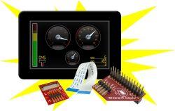 4D SYSTEMS GEN4-ULCD-50D-CLB-SB-PI