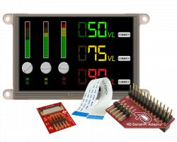 4D SYSTEMS GEN4-ULCD-50D-PI