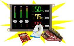 4D SYSTEMS GEN4-ULCD-50D-SB-PI