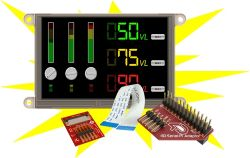 4D SYSTEMS GEN4-ULCD-50DT-SB-PI