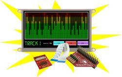4D SYSTEMS GEN4-ULCD-70D-SB-PI