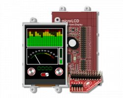 4D SYSTEMS ULCD-32PTU-PI