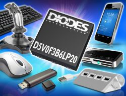 DIODES INC D5V0F3B6LP20-7