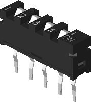 DIPTRONICS SIP-04A-V