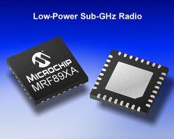 MICROCHIP MRF89XAT-I/MQ