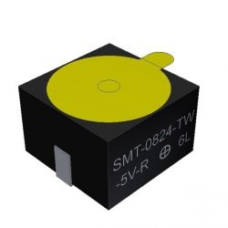 PUI AUDIO SMT-0824-TW-5V-R