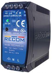 RECOM REDIN45-24