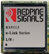REDPINE RS9113-NBZ-D0N-12