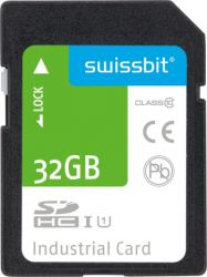 SWISSBIT SFSD032GL3BM1TO-I-LF-2B1-STD