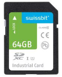 SWISSBIT SFSD064GL3BM1TO-I-OG-2CP-STD