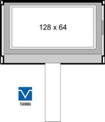 TIANMA TM12864G3CCWGWA-1