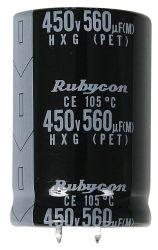 RUBYCON 400VXH220MEFCSN25X30