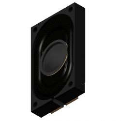 PUI AUDIO AS02508CO-2-WR-R