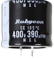 RUBYCON 400MXG270MEFCSN22X50