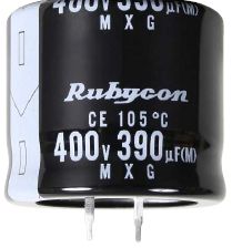 RUBYCON 450MXC220MEFCEN30X35